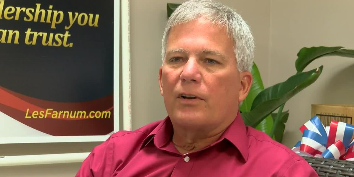 Web extra: Les Farnum, Candidate State Rep. Dist. 33