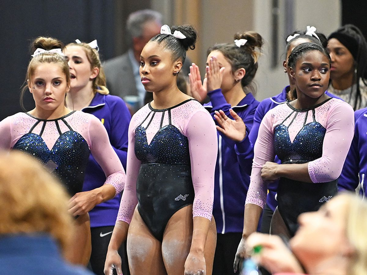 LSU gymnastics defeated in Florida; team earns season high