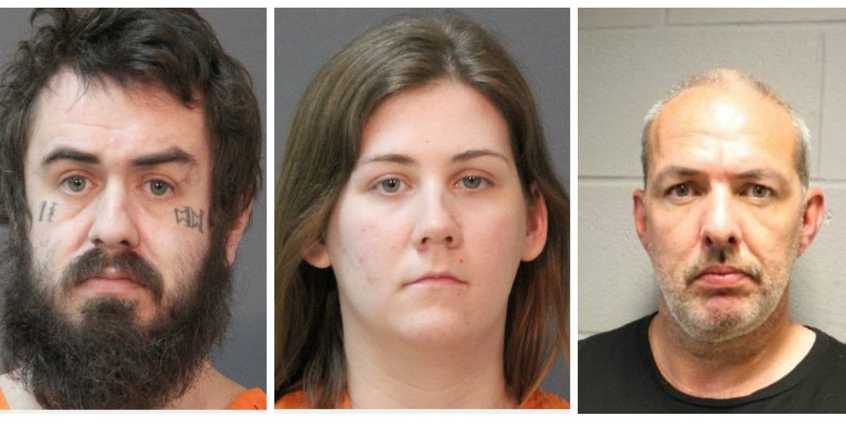 Three formally charged with murder in connection with body found near Starks