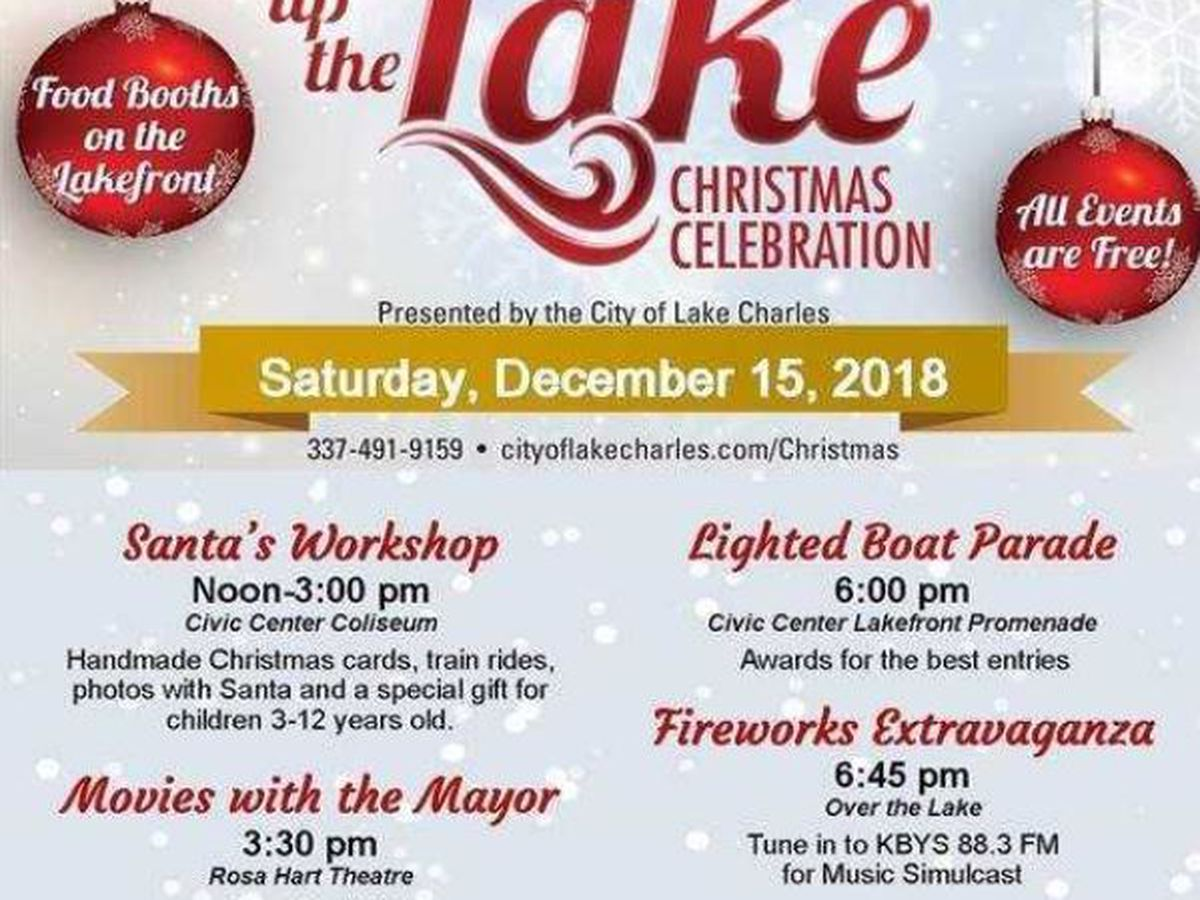 Light Up the Lake Saturday