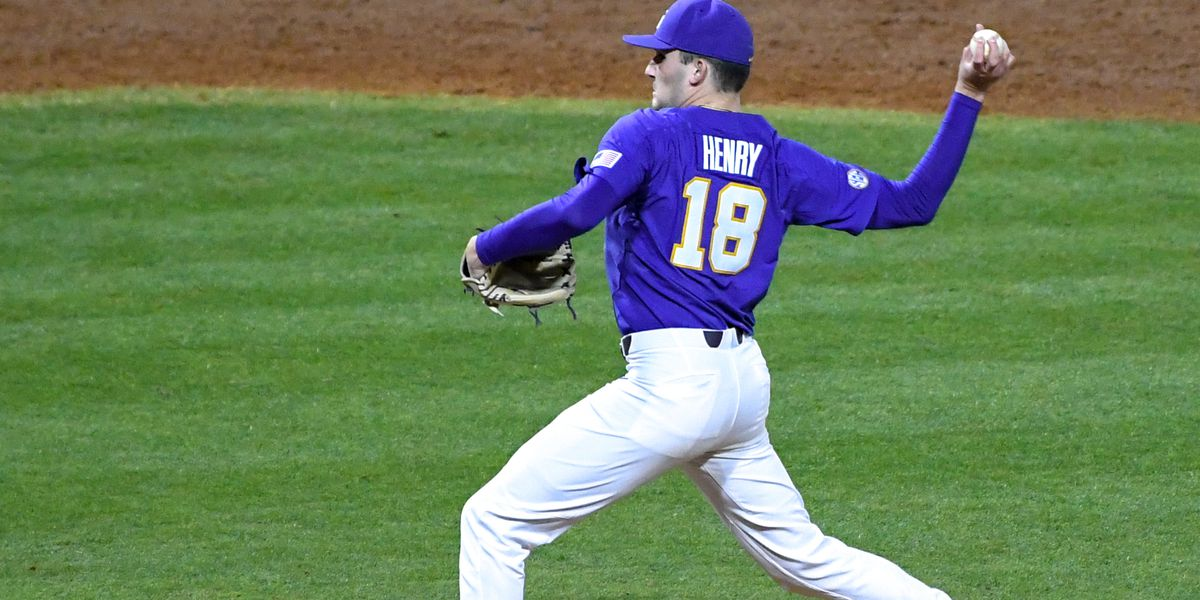 No. 7 LSU baseball falls to No. 5 Georgia in Game 2