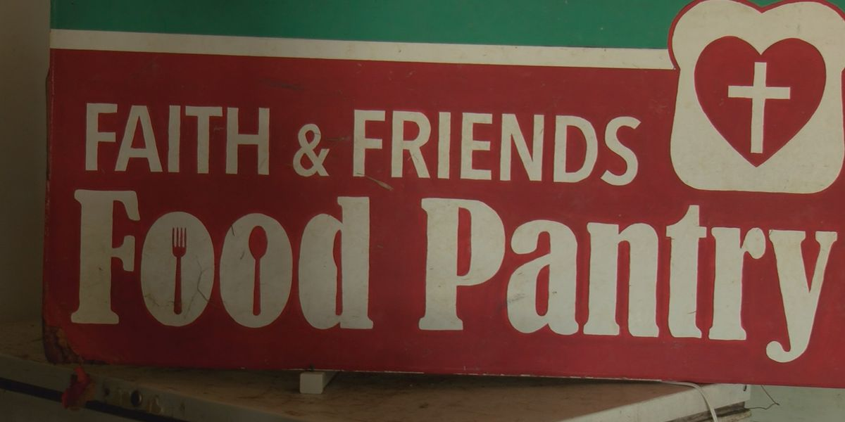 Faith & Friends Food Pantry unable to reopen due to hurricane damage