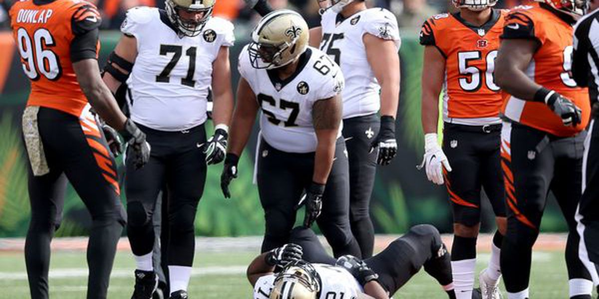 Terron Armstead only Saint to miss workout in preparation for the Cowboys