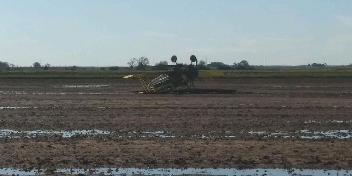 Pilot walks away from cropduster crash in Jeff Davis Parish