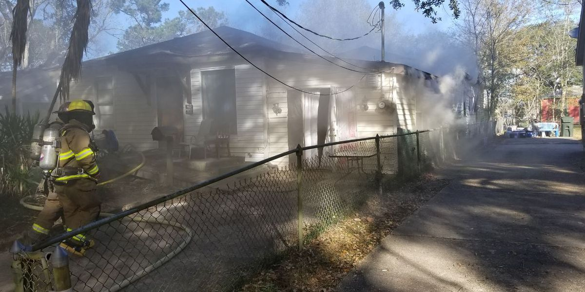 LCFD extinguishes house fire