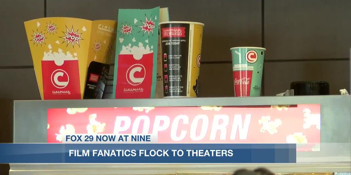 Local moviegoers flock to theater for Godzilla vs. Kong