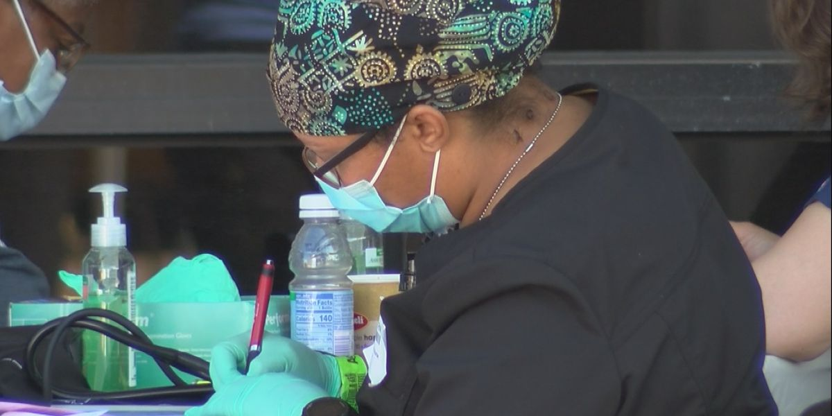 Remote Area Medical clinic open in Lake Charles through Saturday