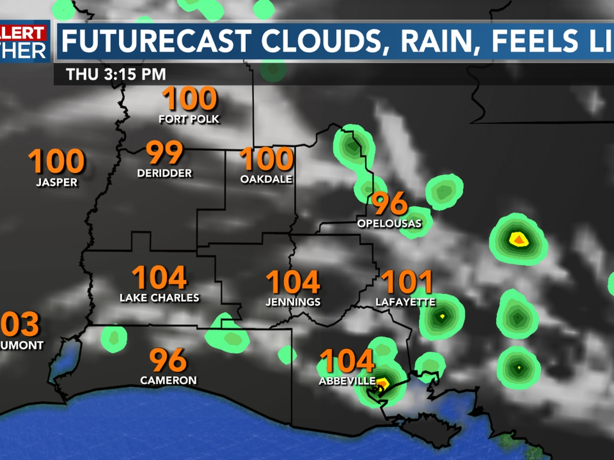FIRST ALERT FORECAST: The heat and humidity roll on, with rain chances for Fourth of July