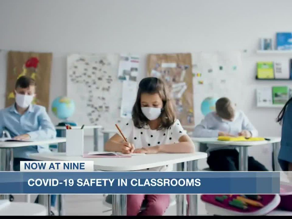Schools implement Covid-19 safety measures for returning to the classroom