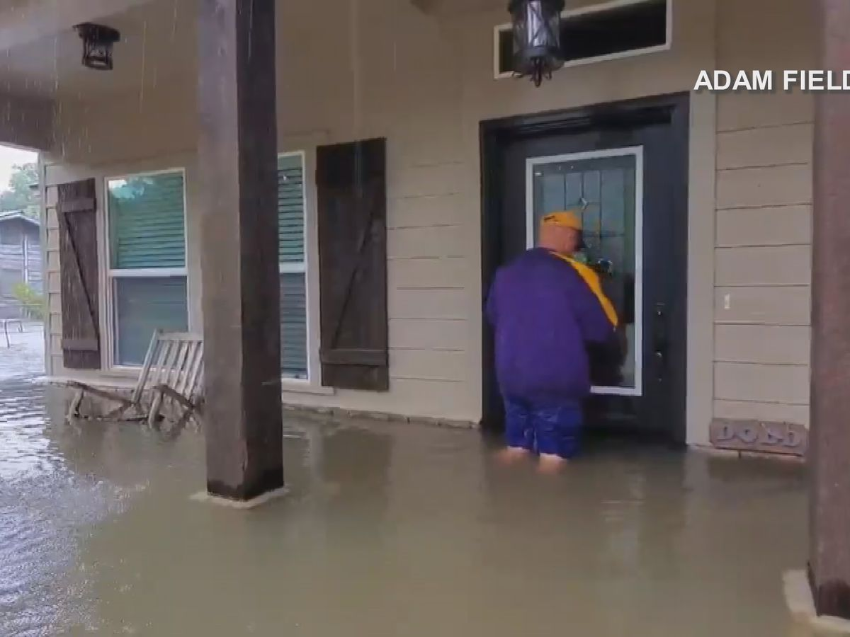 Oberlin family working to restore home after Barry flooding
