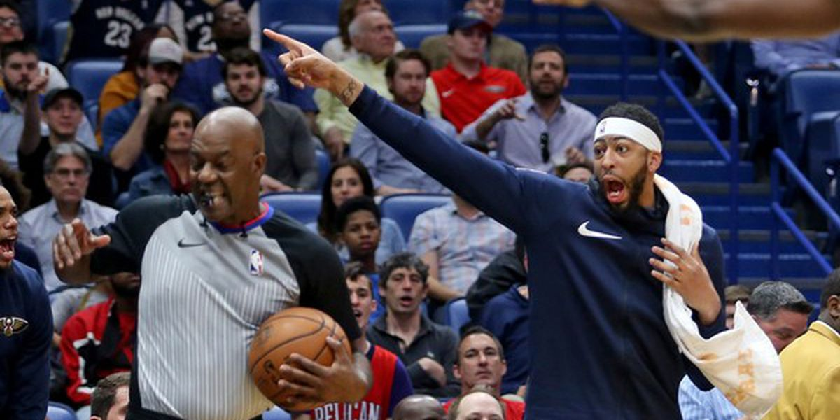 Anthony Davis sits out Jazz game, Pels lose first game of the season