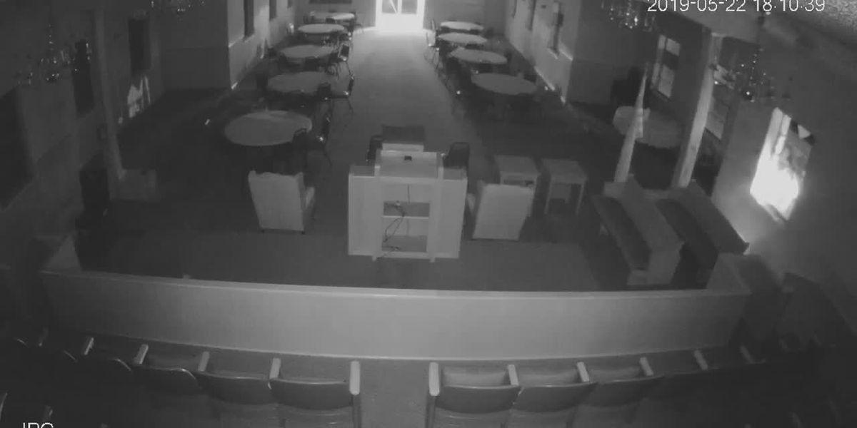 VIDEO: Police investigating arson at Southwest Louisiana church