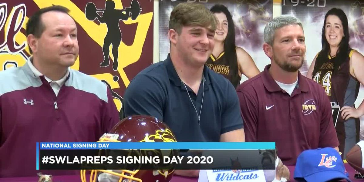 NATIONAL SIGNING DAY: Southwest Louisiana 2020 athletes sign letters of intent