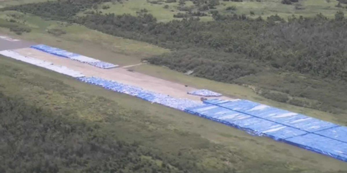 Huge stockpile of water FEMA brought to Puerto Rico was never distributed