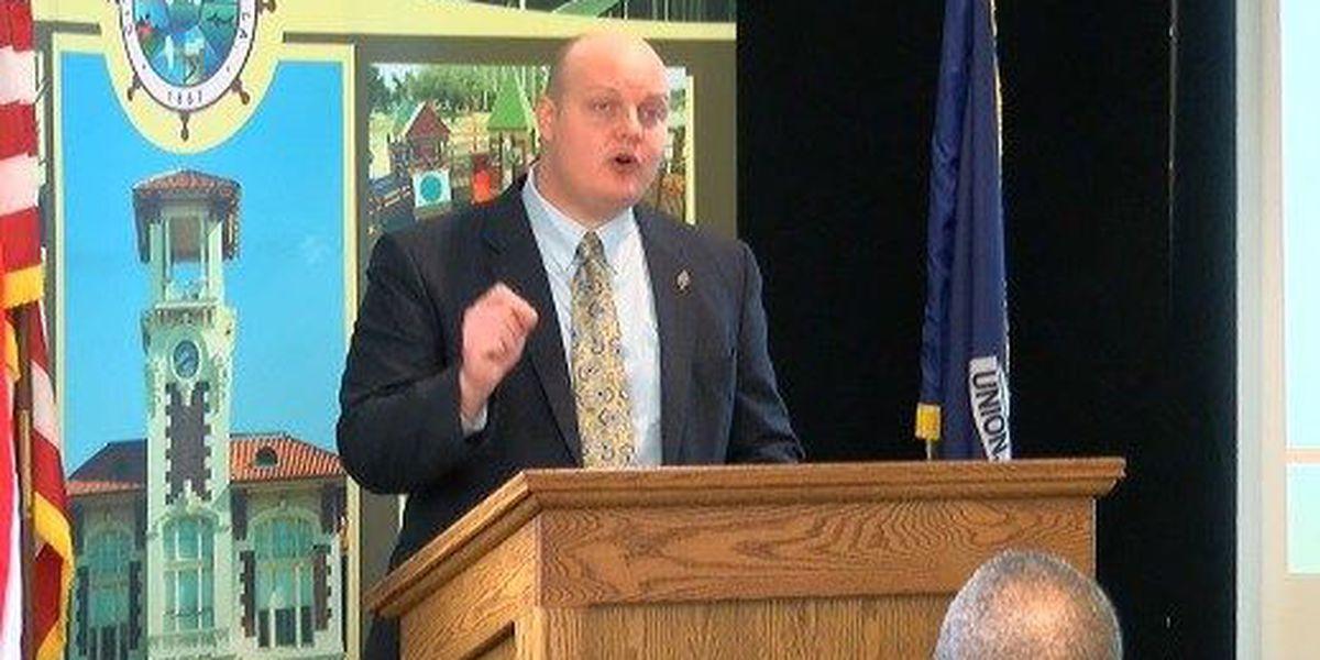 Mayor Nic Hunter talks drainage