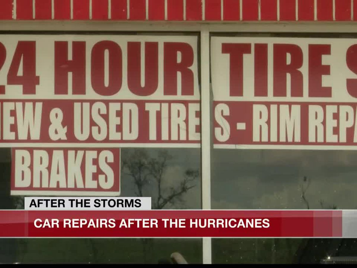 24-hour tire shop working non-stop through two hurricanes