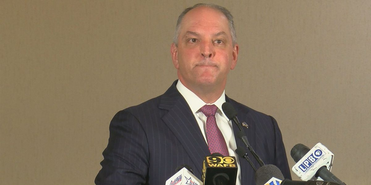 WATCH LIVE: Gov. Edwards speaks from Baton Rouge