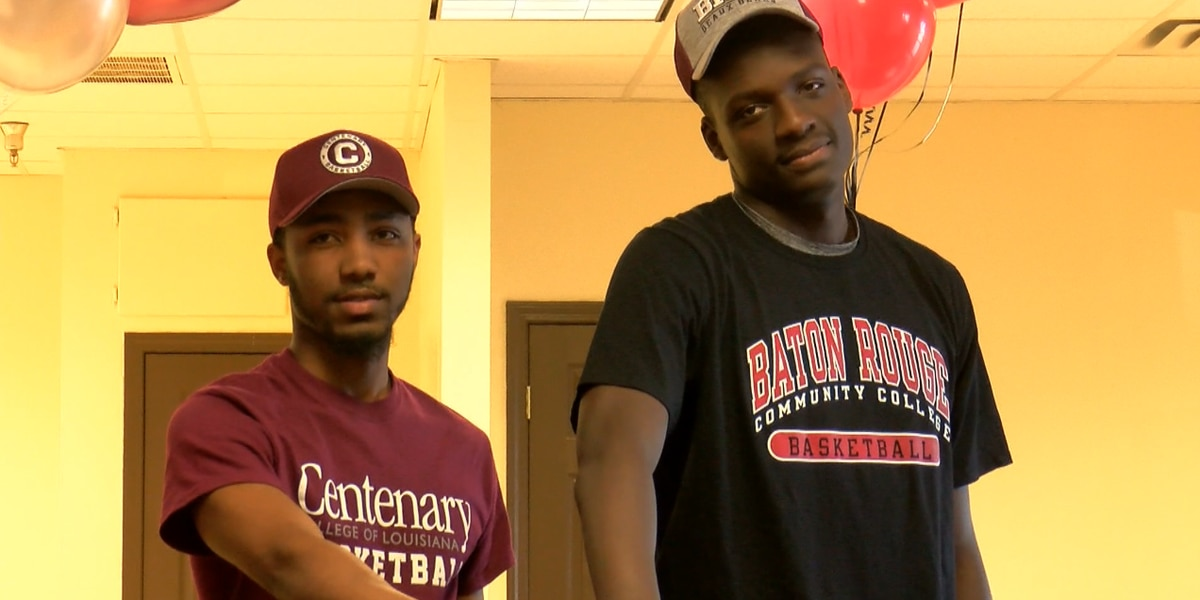 LCCP's Young and Felton sign to play college basketball
