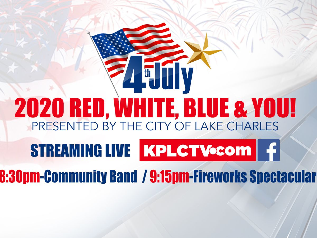 VIDEO: Red, White, Blue & You concert and fireworks