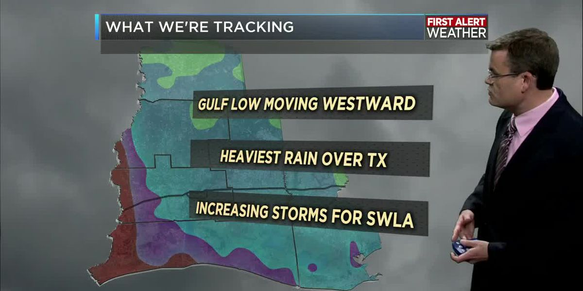 FIRST ALERT FORECAST: Storms on the return thanks to a Gulf disturbance will help with the heat