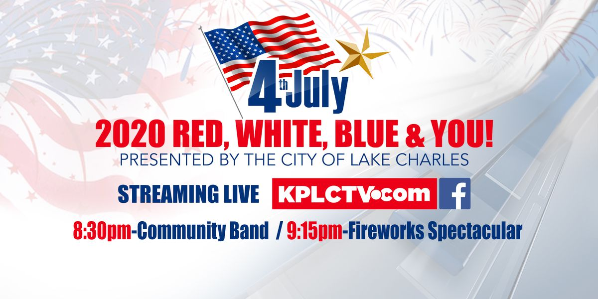 LIVE ONLINE: Red, White, Blue & You concert and fireworks