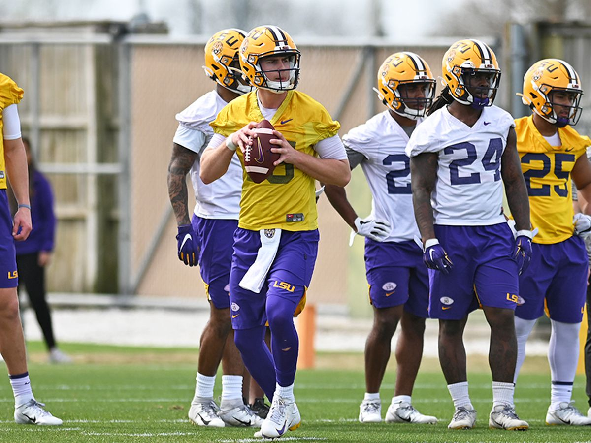 LSU prepares for upcoming season after spring football cut short