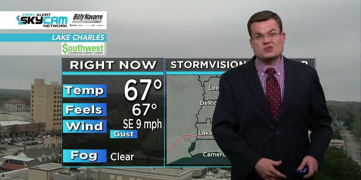 FIRST ALERT FORECAST: Showers return Saturday, then turning much colder into next week