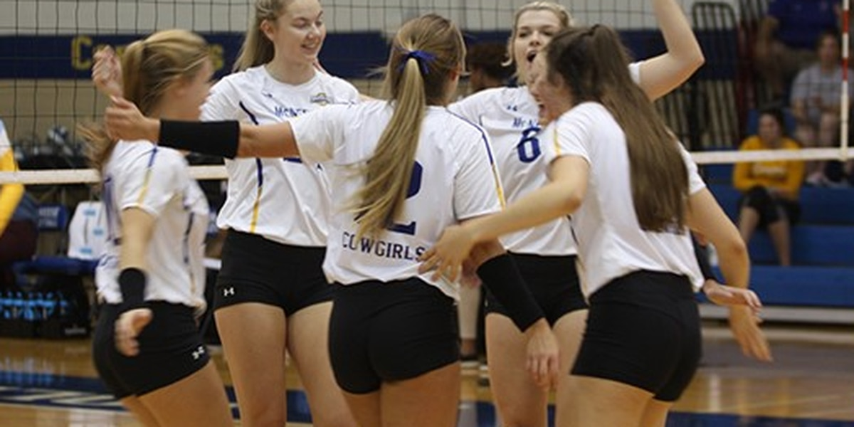 McNeese volleyball picks up first SLC win of the season