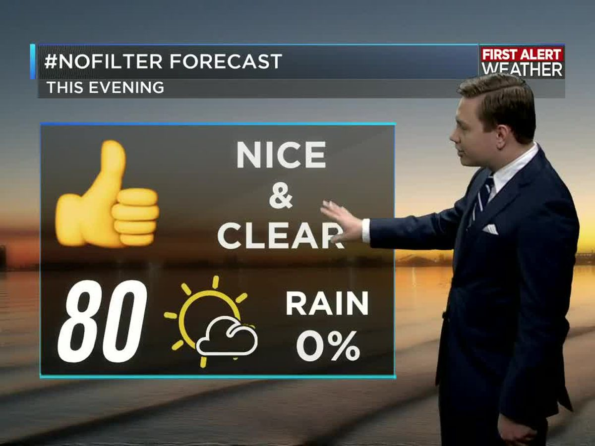 First Alert Forecast: Humidity on the increase as we finish the week, then rain this weekend