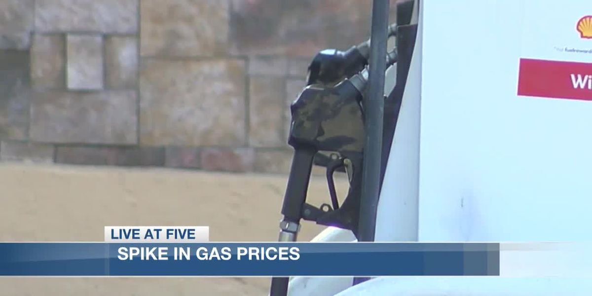 Increase in gas prices following last weeks weather