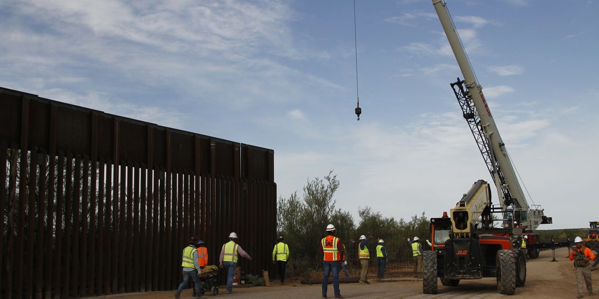 Pentagon approves military construction cash to build border wall